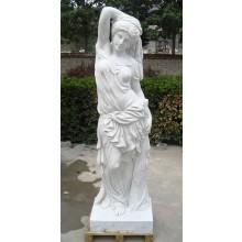 Aphrodite antike Frauen Skulptur weißer Marmor Klassik