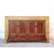 Asia Kommode Sideboard hellbraun two tone optic by Luxurypark