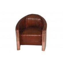 NEU aircraft möbel Kupfer Leder revolving chair Sessel