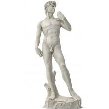 Michelangelo David Skulptur schneeweißer Marmor Renaissance