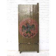 China Tibetisches Standbild Adler mit Schlange Raumteiler