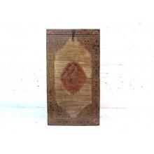 China Tibet Box Truhe rotbraun Antikfinish Hartholz by Luxurypark