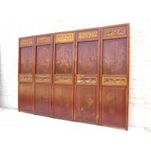 China paravent echt antik 195x5x143cm Geschenk