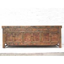 China Shanxi mächtiges Sideboard 2,5 lang antikholz Ulme