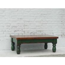Traditionell flacher Tisch Pinienholz massiv